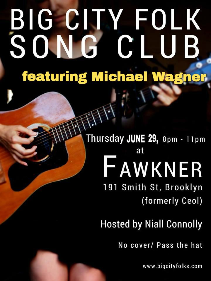 Michael Wagner with Big City Folk at Fawkner, June 29th 2017